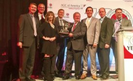 2017 Chapter of the Year award at the AGC of America awards ceremony