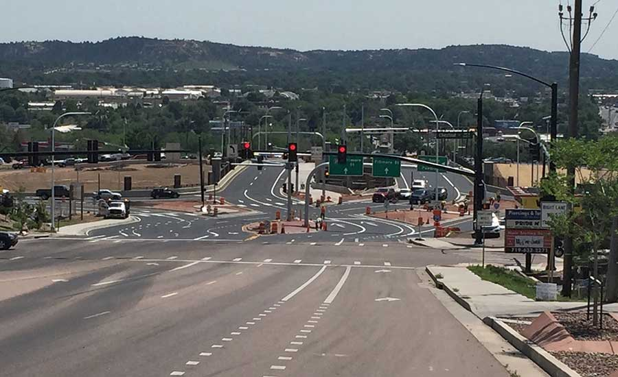 I-25 & Fillmore Street Diverging Diamond Interchange