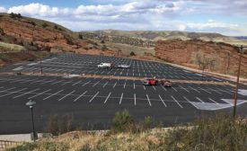 Red Rocks Park parking lot