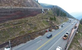 Berthoud Pass Wall Repairs