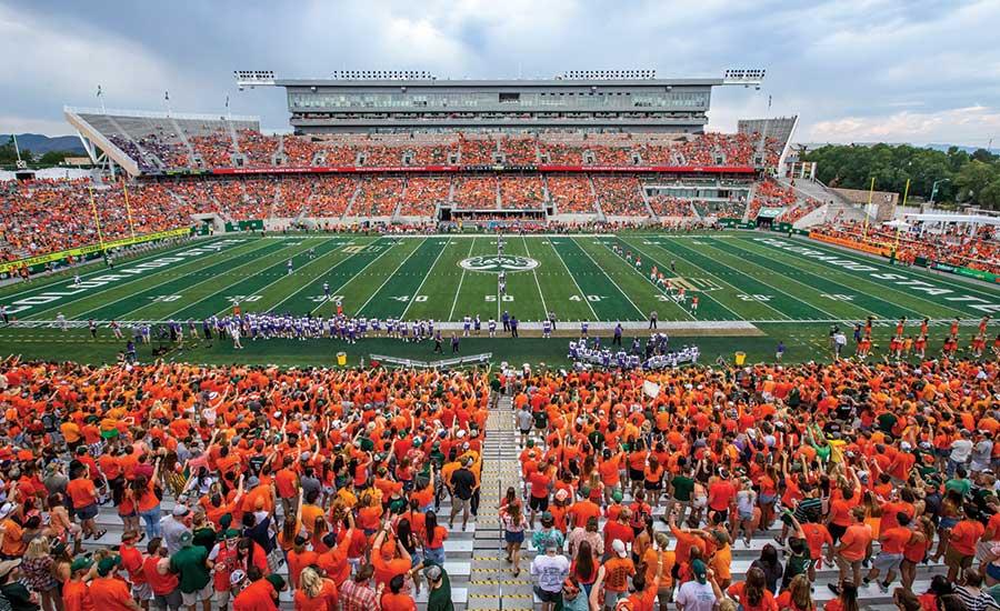 Canvas Stadium At Colorado State University