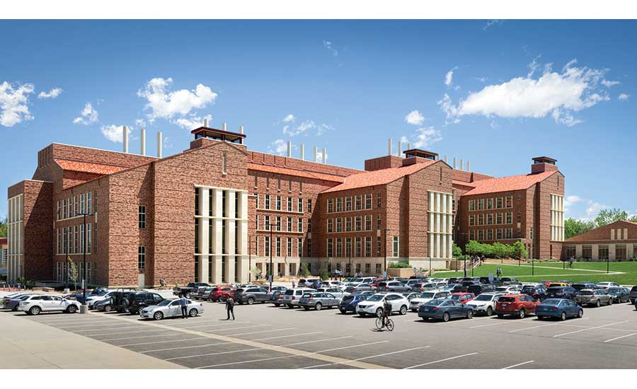 University of Colorado Boulder Jennie Smoly Caruthers Biotechnology Building