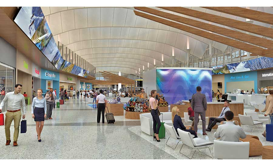 Bustling Denver International Airport Launches Major Expansion, Upgrades