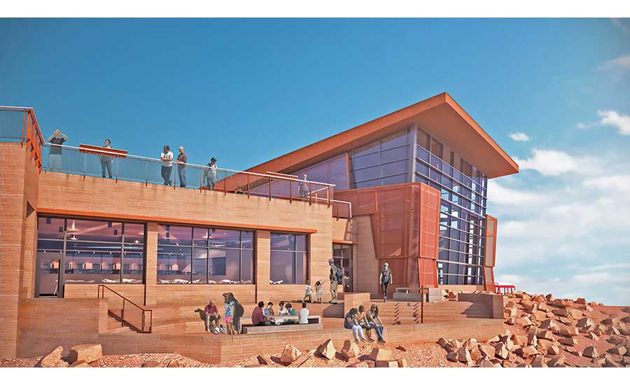 New Visitors Center Being Built for 'Peak' Conditions | 2019