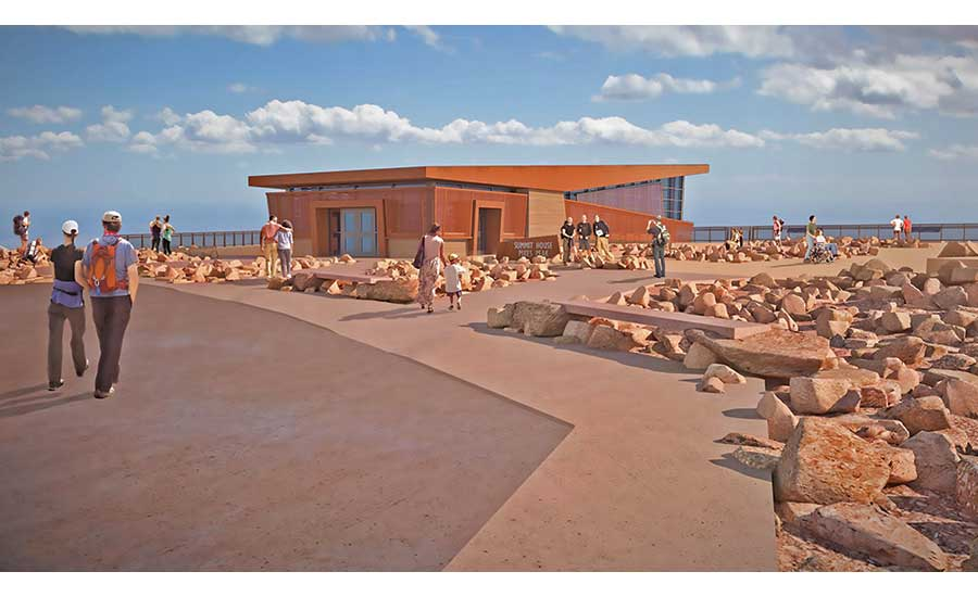 Pikes Peak Summit Complex Being Built in Difficult High-Altitude Conditions