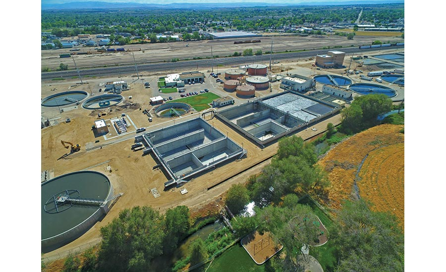 Nampa WWTP Phase 1 Upgrades Project Group A