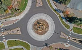 Mt. Werner Circle/Ski Time Square Drive Roundabout