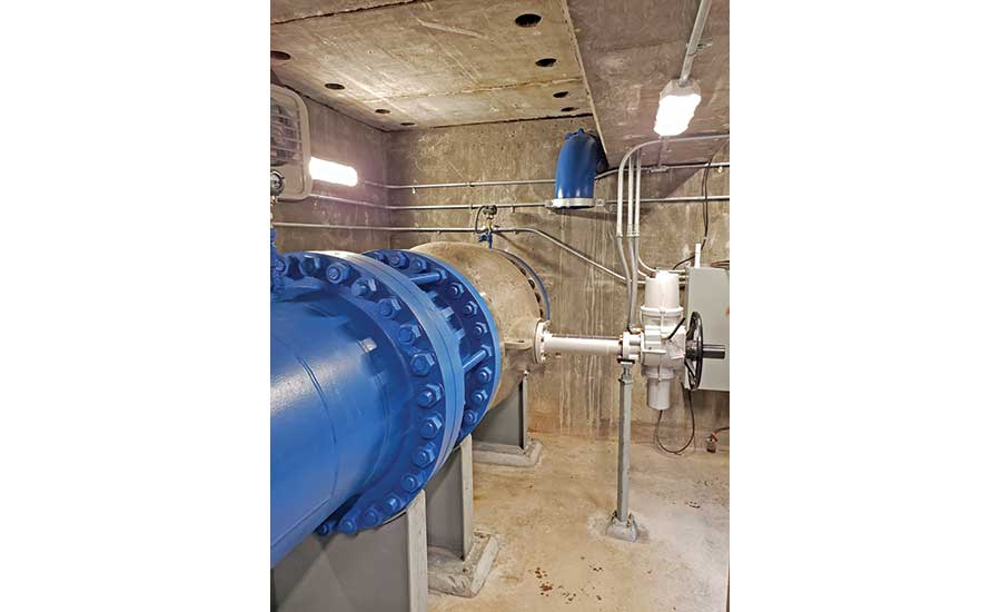 Design-Build Services for Kettle Creek Flow Control Valve Project