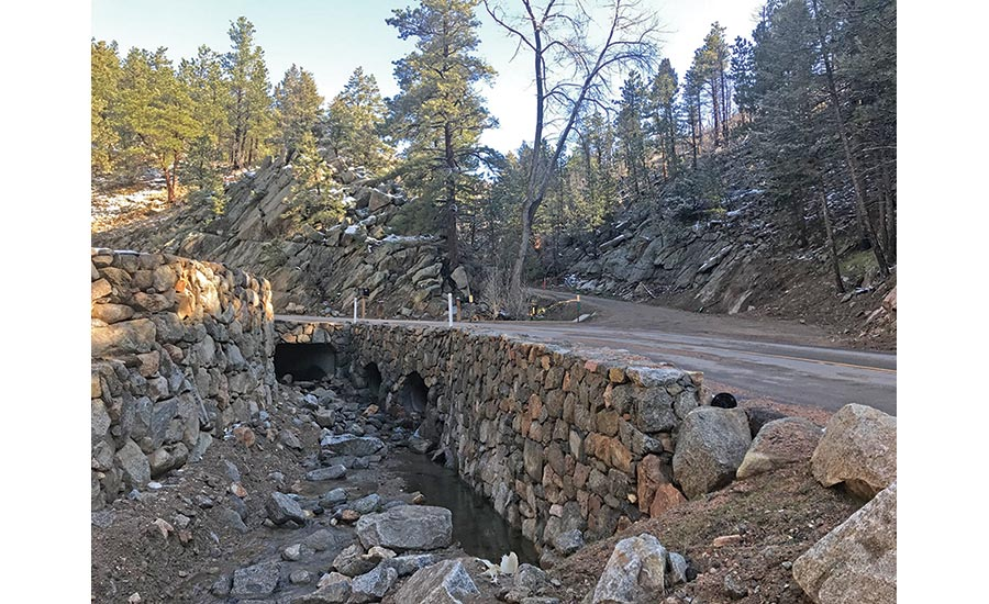 Gold Run Road Reconstruction