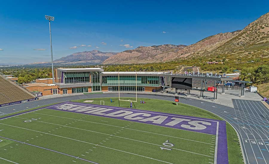 Sports Entertainment Best Project Weber State University North End Zone 2020 10 13 Engineering News Record
