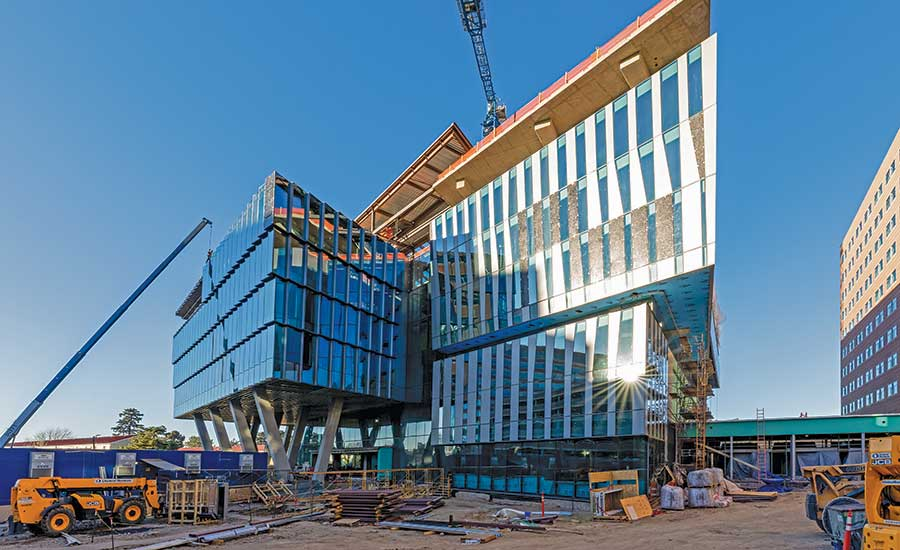 Cutting-Edge Form of Anschutz Health Sciences Building Echoes Its Innovative Function