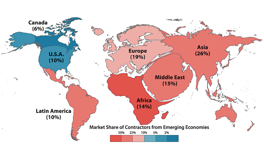 How global are the world s largest contractors 2015 12 for America s best contractors