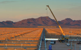 Abengoa-owned solar thermal plant, Arizona