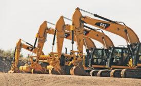 Construction machine sales forecast to drop