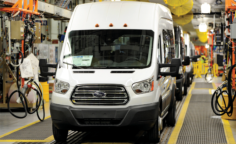 Euro cargo vans redefine your rolling workshop 2015 11 for Ford motor company kansas city mo