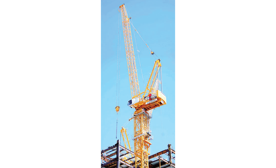 Modified crane height limitation