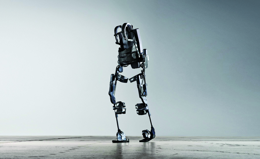 Ekso Bionics' powered exosuit