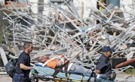 Houston Texas Scaffold Collapses