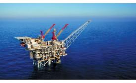 Tamar huge gas field