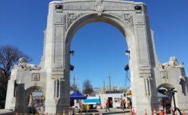Christchurch NZ Triumphal Arch