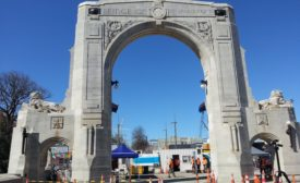 Christchurch NZ Triumphal Arch