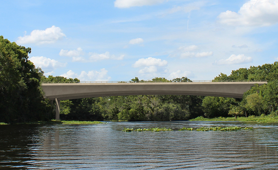 Wekiva River bridge