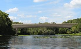 Wekiva River bridge
