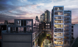 AECOM residential development in London