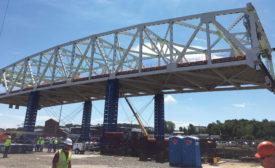 Fore River Bridge center span