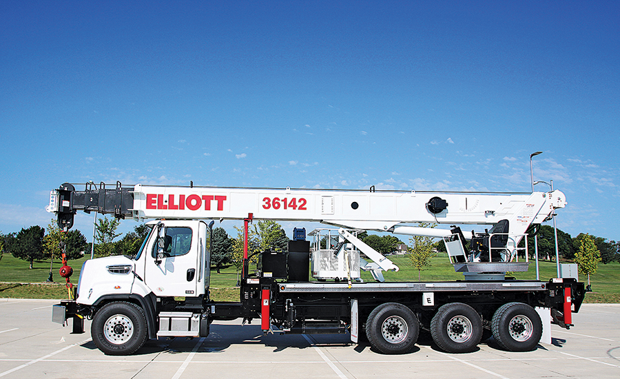 Elliot Equipment Co. 36142 boom truck