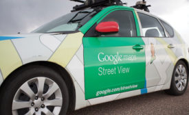 Google Street View mapping cars