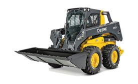 Deere's 90-in. severe-duty construction bucket