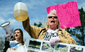 Residents Protesting Flint Water System