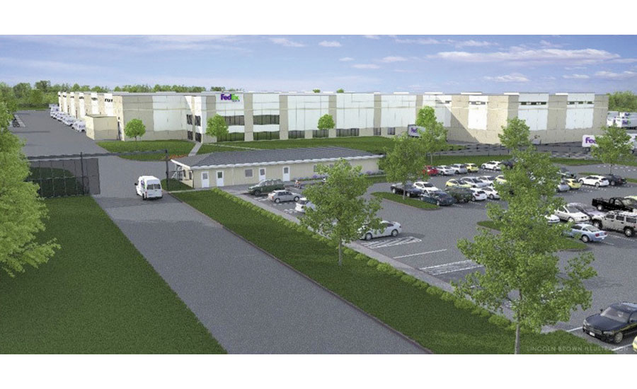 FedEx warehouse site's first tenant