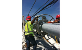 Dehumidification system extends life of suspension cables