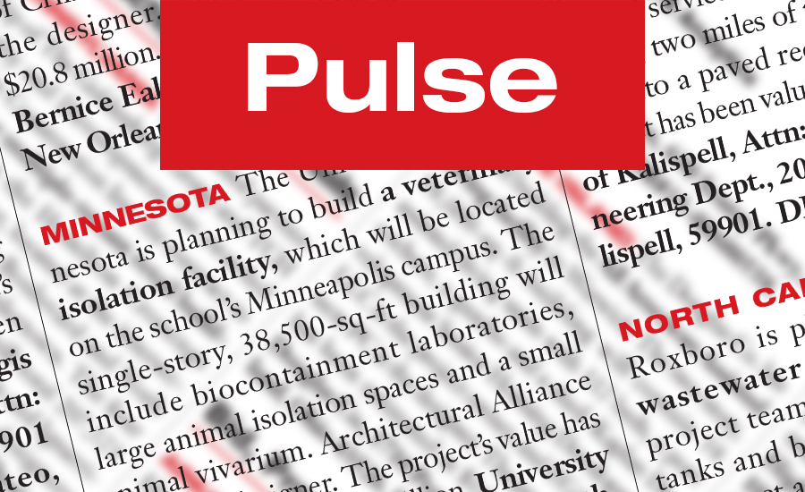 California Pulse: Construction bids for the week of May 29