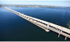 Longest Floating Bridge