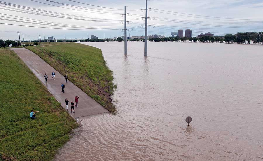 Trinity River flooding