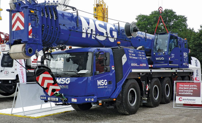 Product Snapshot: All Terrain Crane and Road Paver | 2016-07