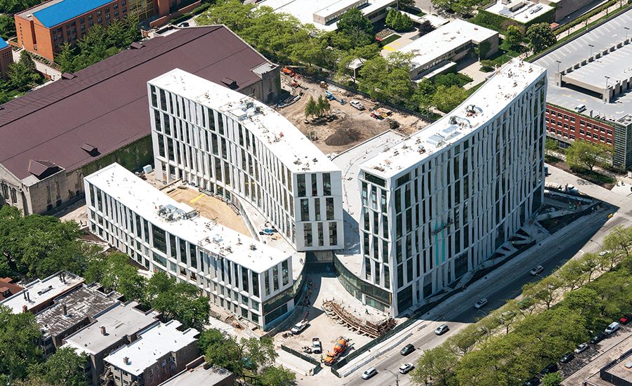 University of Chicago residence project