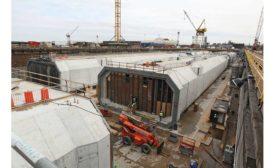 tube tunnel segments