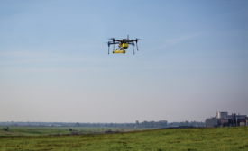 Methane-detection drone