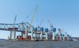 New NY Bridge piers and pylons