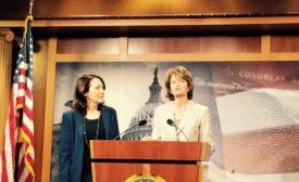 Bill sponsors Lisa Murkowski and Maria Cantwell