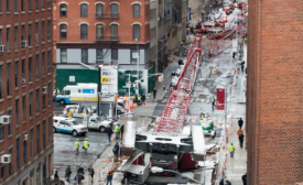 NYC crawler crane