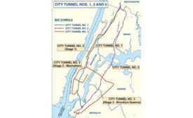 NYC water tunnel map