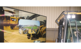 HoloLens-enabled equipment cab