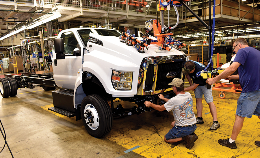 Ford's F-650 and F-750 models