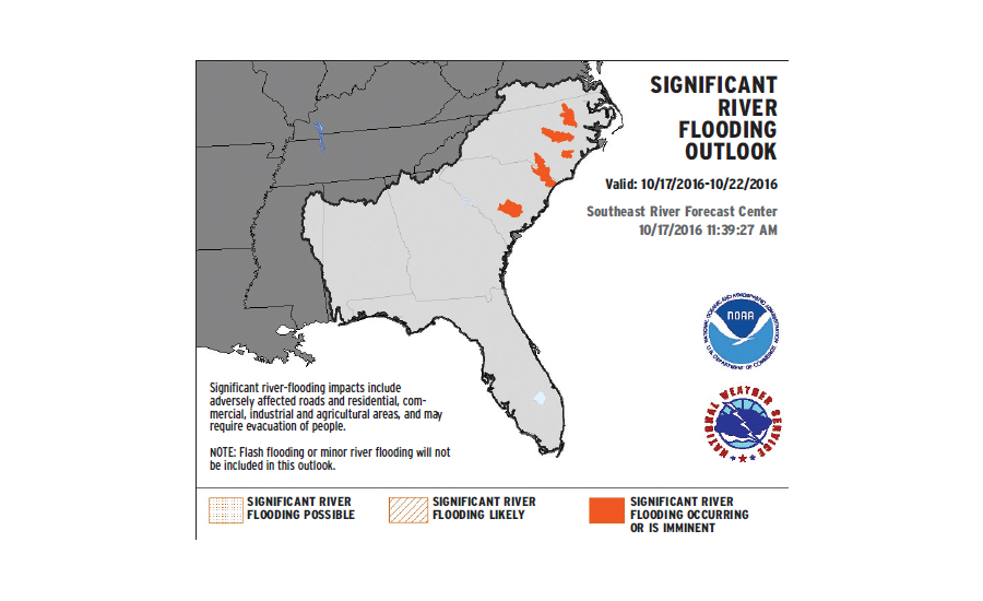 significant river flooding outlook