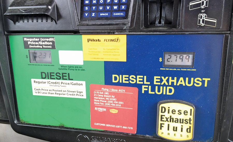 Diesel Exhaust Fluid >> Consider Operating Costs Of Diesel Exhaust Fluid Too 2016
